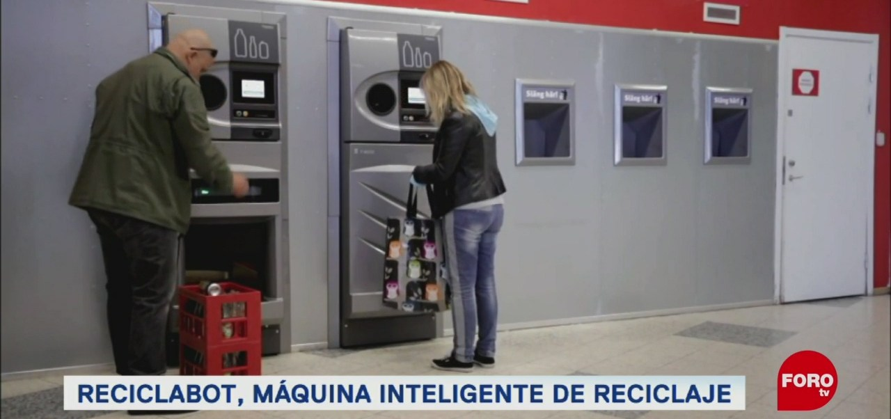 Máquinas que te premian por reciclar