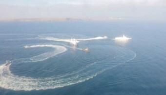 Rusia y Ucrania mantienen enfrentamiento naval por Mar Negro