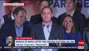 Marko Cortés llama a la unidad tras ganar presidencia del PAN