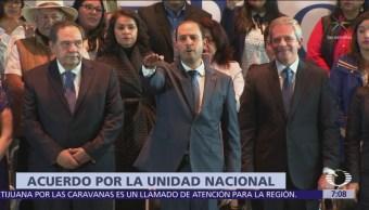 Marko Cortés rinde protesta como nuevo líder nacional del PAN