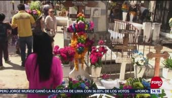 Más de 15 mil personas visitan panteón de Chilpancingo