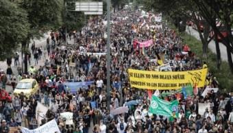 Colombia: Estudiantes exigen a Duque más dinero en educación