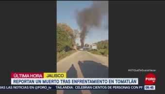 Reportan un muerto tras enfrentamiento en Tomatlán, Jalisco
