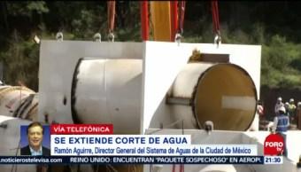 Megacorte Agua Extenderá 150 Horas Cdmx Sacmex
