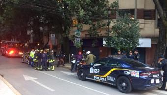Menor cae del tercer piso de un edificio CDMX