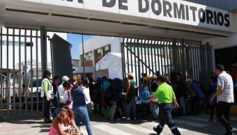 Al menos 600 migrantes centroamericanos permanecen en CDMX