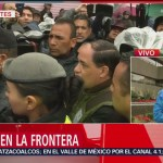 Migrantes amenazan con ponerse en huelga de hambre; disparan alertas