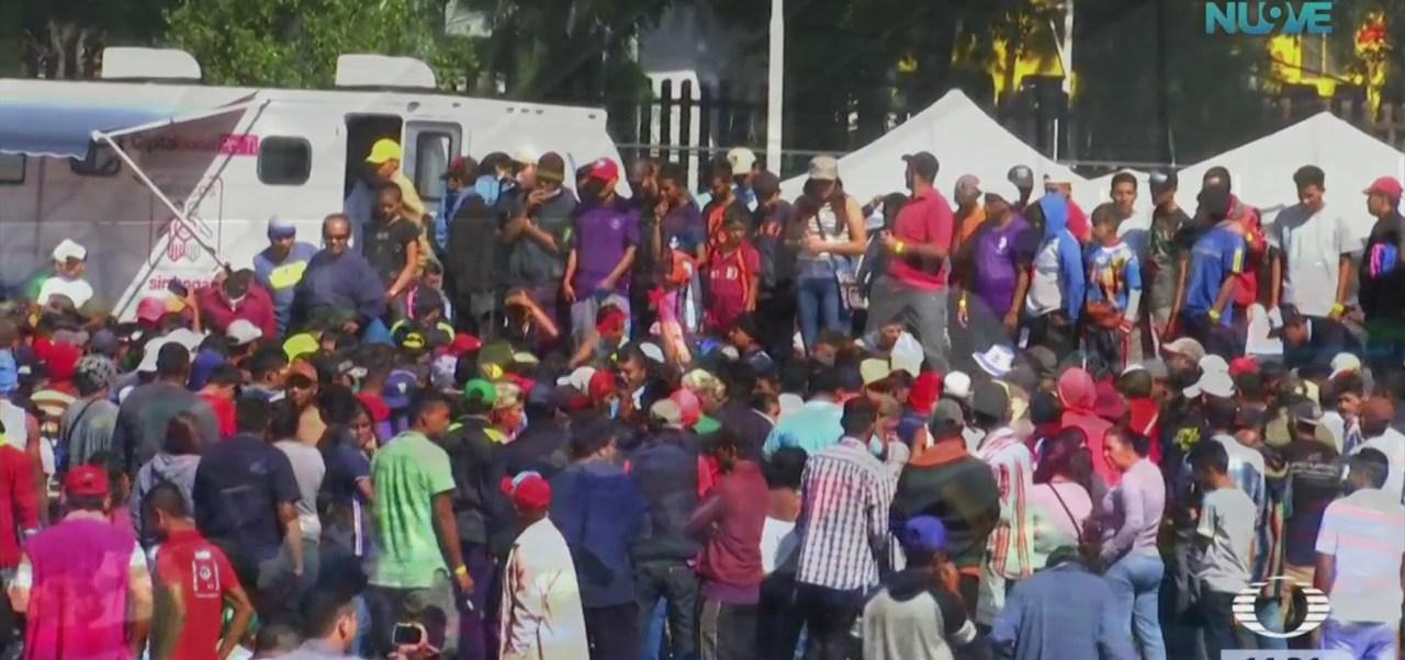 Migrantes analizan si solicitar refugio en México