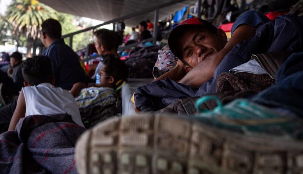 Sólo 50% de los migrantes en CDMX pretenden continuar a EU