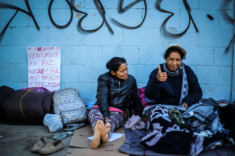 Migrantes en la frontera, no todos buscan asilo, dice Kellyanne Conway
