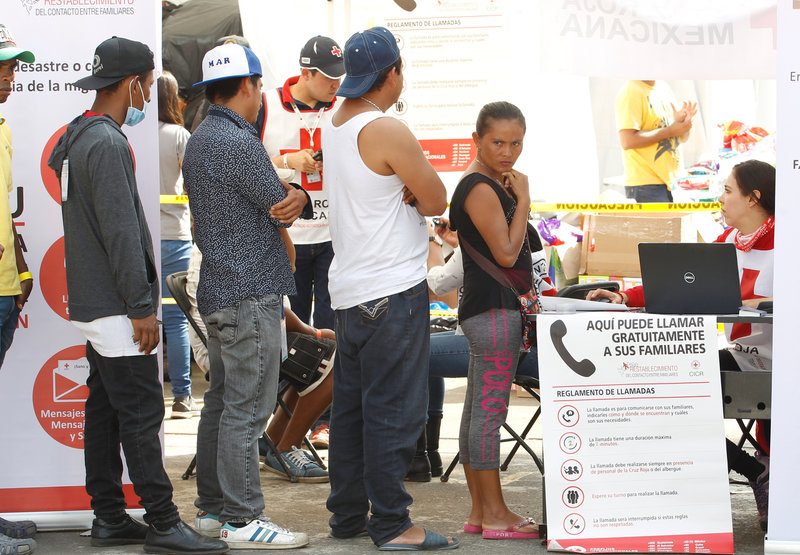 alertan migrantes riesgos ruta del desierto rumbo eu