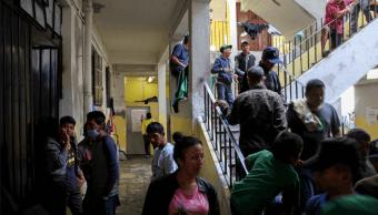 No hay brotes de epidemia entre migrantes de la caravana