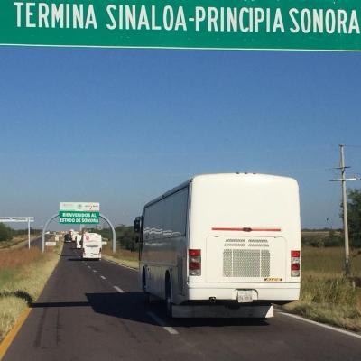 Llegan integrantes de la Primera Caravana a Sonora