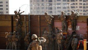 marchan militarizacion intimidar migrantes en texas