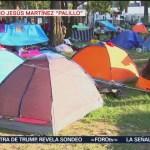 Migrantes manifiestan urgencia por llegar a Estados Unidos