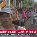 Migrantes se dispersan en Sonora, Nayarit y Jalisco