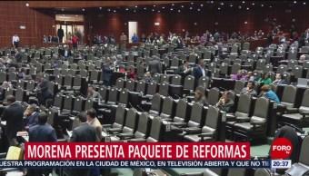 Morena Presenta Reformas Para Guardia Nacional