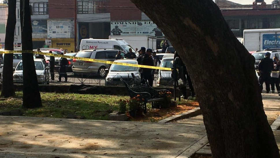 Movilización policíaca en Tlatelolco tras hallazgo de cuerpo