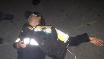 Conductor de BMW lesiona a mujer policía para evitar infracción en la Cuauhtémoc