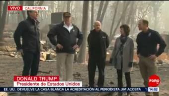Nadie Jamás Pudo Imaginar Un Desastre Forestal En California Donald Trump Cifra De Muertos California Incendios Forestales