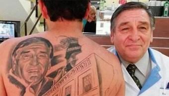 Tatuaje Médico Salvó Vida Nano Salguero