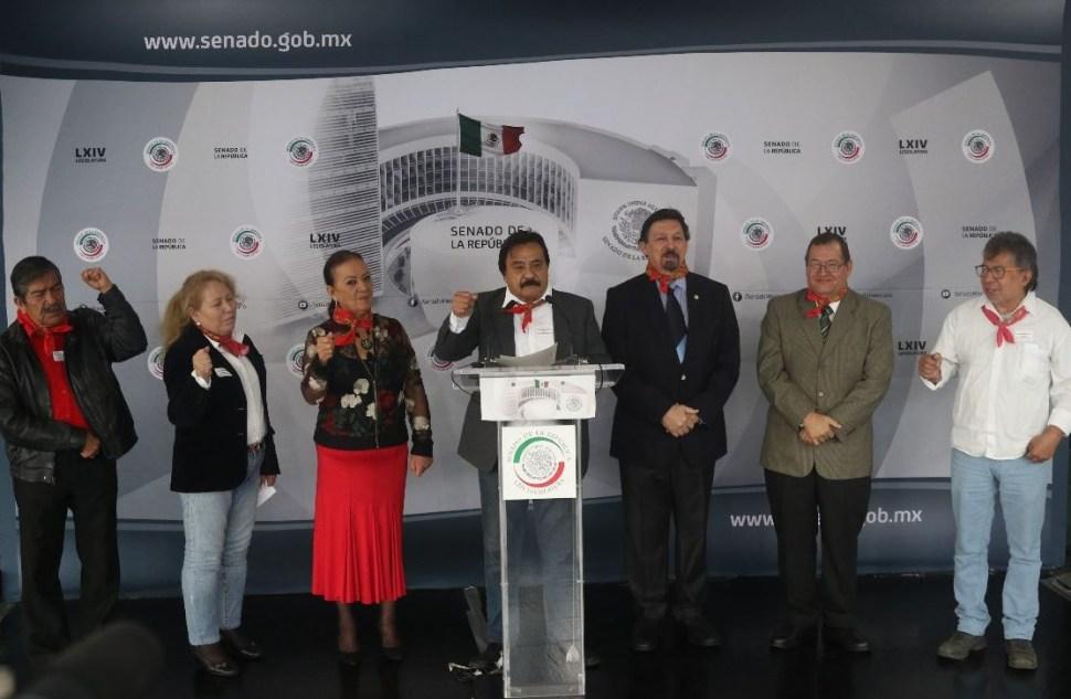 'Napo' celebra descongelamiento cuentas de Sindicato Minero