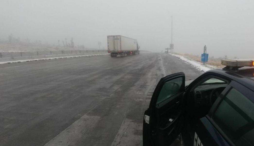 Caída de aguanieve seguirá en México por frente frío 10