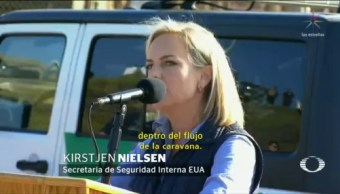 Nielsen Supervisa Medidas Seguridad Frontera De Tijuana