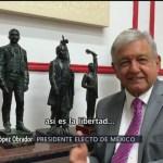 No seré dictador dice López Obrador
