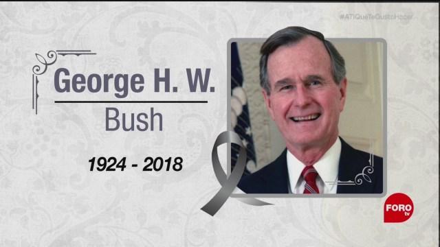 Muere el expresidente George H. W. Bush