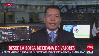 Explican ligera recuperación en la Bolsa Mexicana de Valores