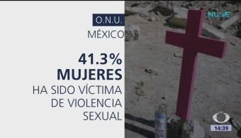 Nueve mujeres son asesinadas al día en México