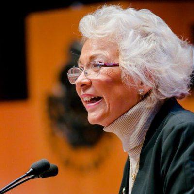 Olga Sánchez Cordero presenta iniciativa y solicita licencia para asumir cargo en Segob