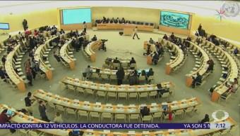ONU pide a México frenar desapariciones y proteger a periodistas