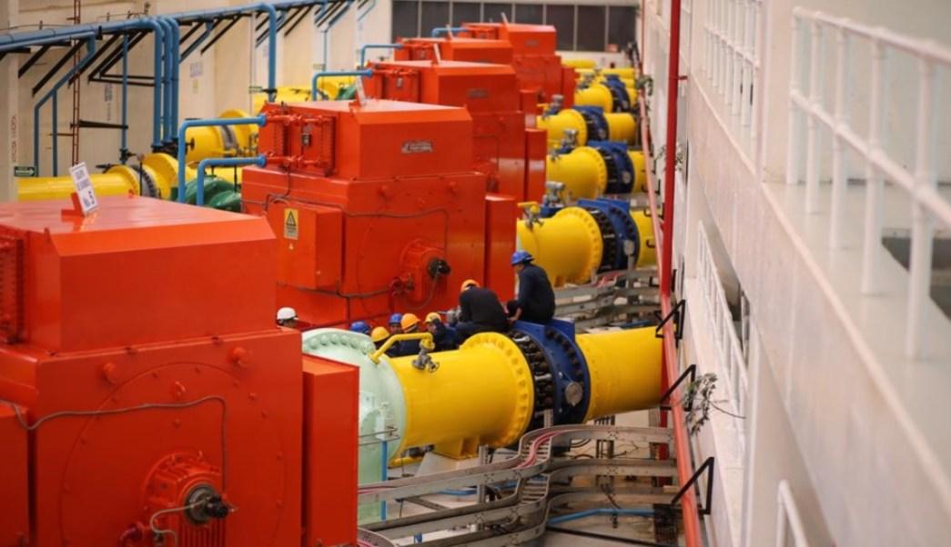 Encienden bombas de alta presión del Sistema Cutzamala