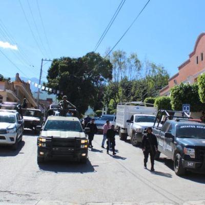 Desplazados de Guerrero regresan a sus comunidades en la Sierra