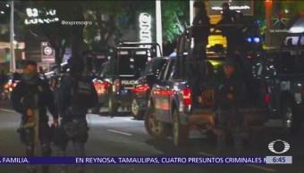 Operativo en restaurante de Querétaro termina con 7 detenidos