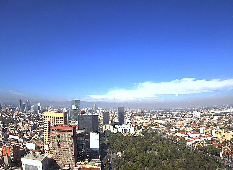 Ciudad de México registra una temperatura mínima