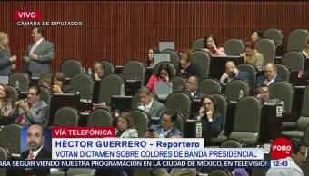 Aprueban Dictamen Colores De La Banda Presidencial Cámara De Diputados