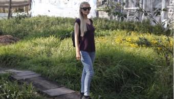 Paris Hilton regresa a verificar reconstrucción de casas en Xochimilco tras el sismo