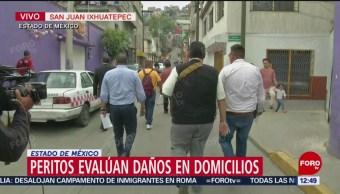 Peritos evalúan daños en San Juanico tras protestas y bloqueo