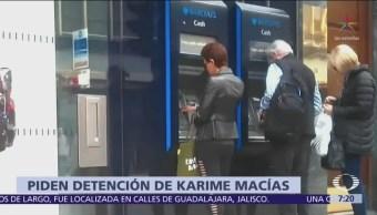 PGR pide a Reino Unido la detención de Karime Macías