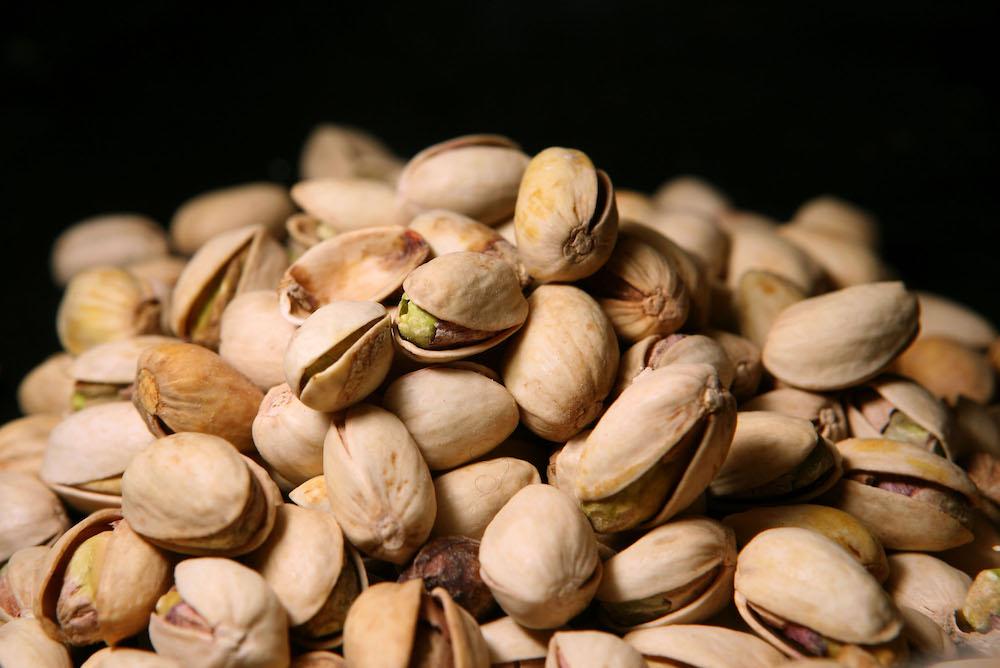 Comer pistaches reducir estrés