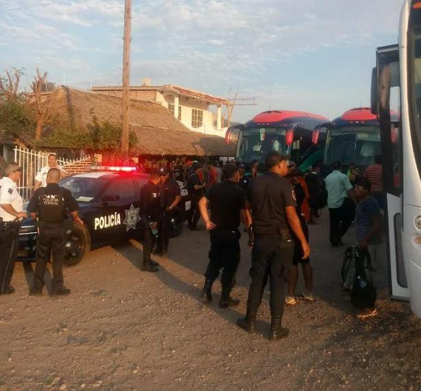 Migrantes llegan a Sinaloa