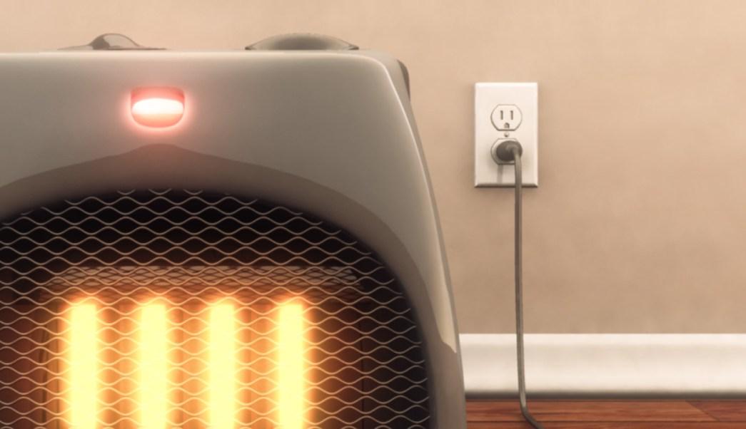 ¿Por qué no debes conectar un calentador a una extensión?