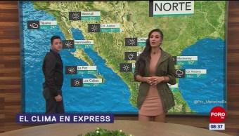 Primera tormenta invernal y frente frío 10 provocarán bajas temperaturas en México