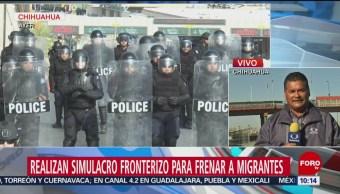 Realizan operativos para frenar a migrantes en Chihuahua