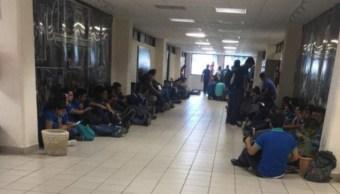 Hombre armado ingresa a universidad de Reynosa y escapa de persecución