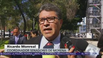 Ricardo Monreal afirma que iniciativa de comisiones bancarias seguirá trámite