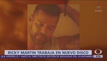 Ricky Martin alista nuevo disco con sonidos brasileños